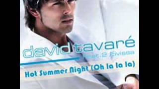 David Tavare-Hot Summer Night (Oh La La La)