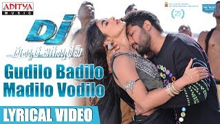 Video Gudilo Badilo Madilo Vodilo Full Song With Lyrics | DJ Songs | Allu Arjun | Pooja Hegde | DSP download MP3, 3GP, MP4, WEBM, AVI, FLV Juni 2017