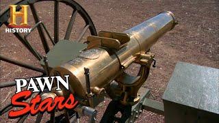 Pawn Stars: RARE & EXPENSIVE GATLING GUN PACKS A PUNCH (Season 4) | History