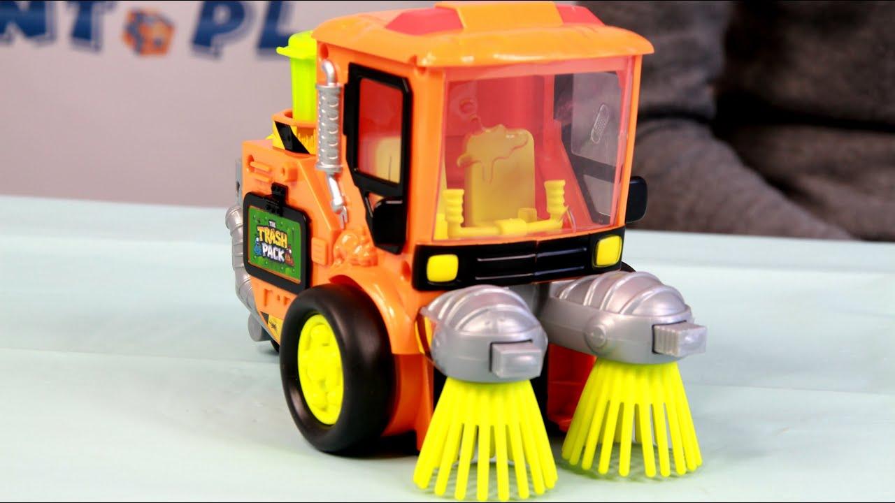 Street Sweeper Playset Zamiatacz Ulic - Trash Pack