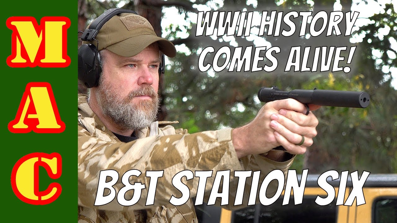 New B&T StationSix pistol - Modern Welrod