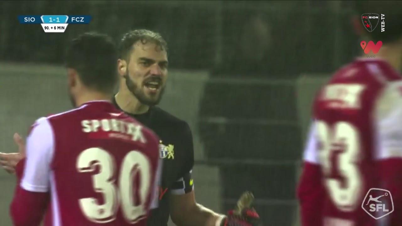 Download FC Sion 1-1 FC Zurich: Highlights