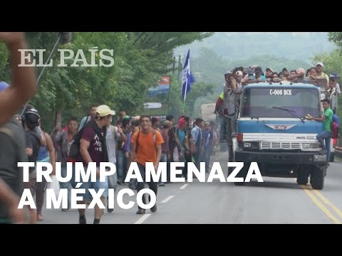 Trump amenaza con enviar tropas y cerrar la frontera con México si no detiene a los migrantes