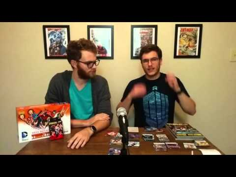 DC Deck-Building Legion of Superheroes | Comic Chat with Gat Review