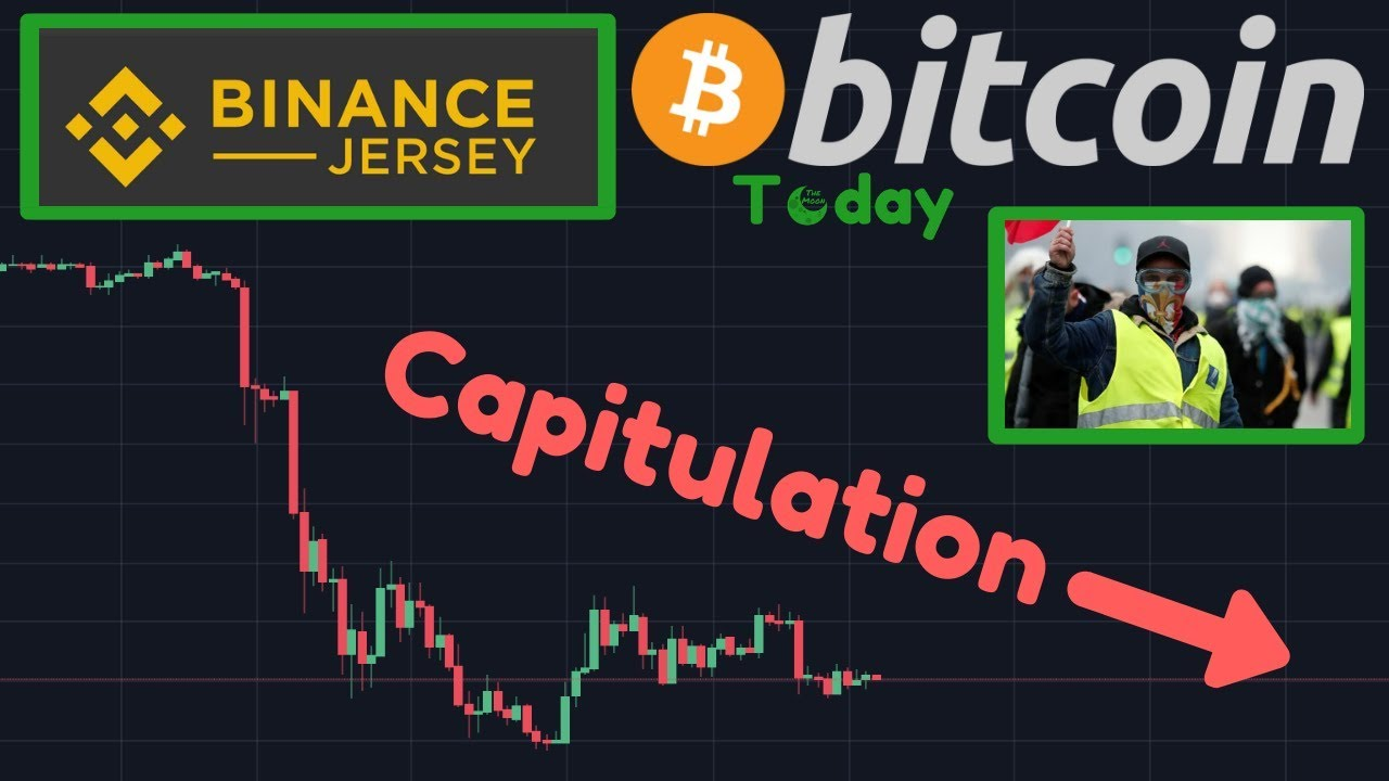 Bitcoin CAPITULATION?! | Binance Jersey HUGE Demand!! | French Bank Run RIGHT NOW!