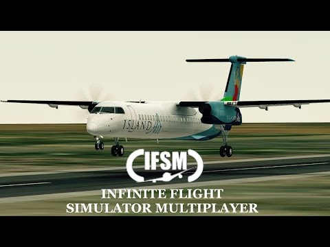 Infinite Flight IsLand Air livery -  Bombardier Dash 8 - Q400