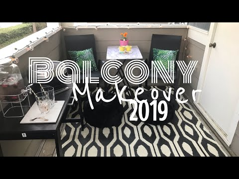 Small Cheap Balcony Makeover (Under $300)