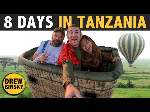 8 DAYS IN TANZANIA (Africa's Best Country!) 🇹🇿