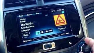 How to setup Pandora and Stitcher Radio on Chevy MyLink