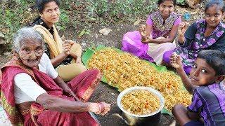 My 105 years Grandma's Prawns Biryani | How to cook shrimp biryani