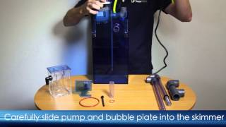 AquaMaxx HOB-1 Protein Skimmer: How to Assemble