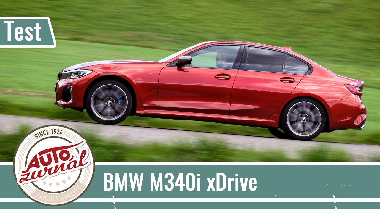 BMW M340i xDrive TEST (Autožurnál TV): Trochu iný rock-n-roll