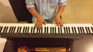 Песня про зайцев (Никулин) - пианино - очень быстро, как в фильме кавер