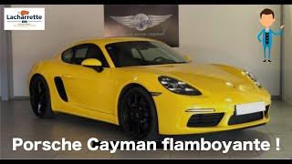 🕊 ARRIVAGE🕊 PORSCHE 718 Cayman 2.0i 300 ch de 2017 et 20000Kms