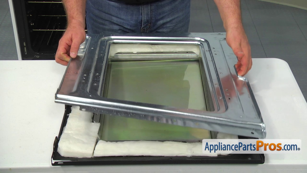 How To: Frigidaire/Electrolux Inner Oven Door Glass 316117500 ...