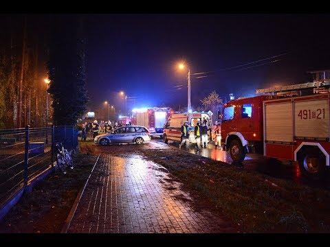 Stegna: Audi wypadło z drogi. Jedna osoba poszkodowana. – 25.11.2017