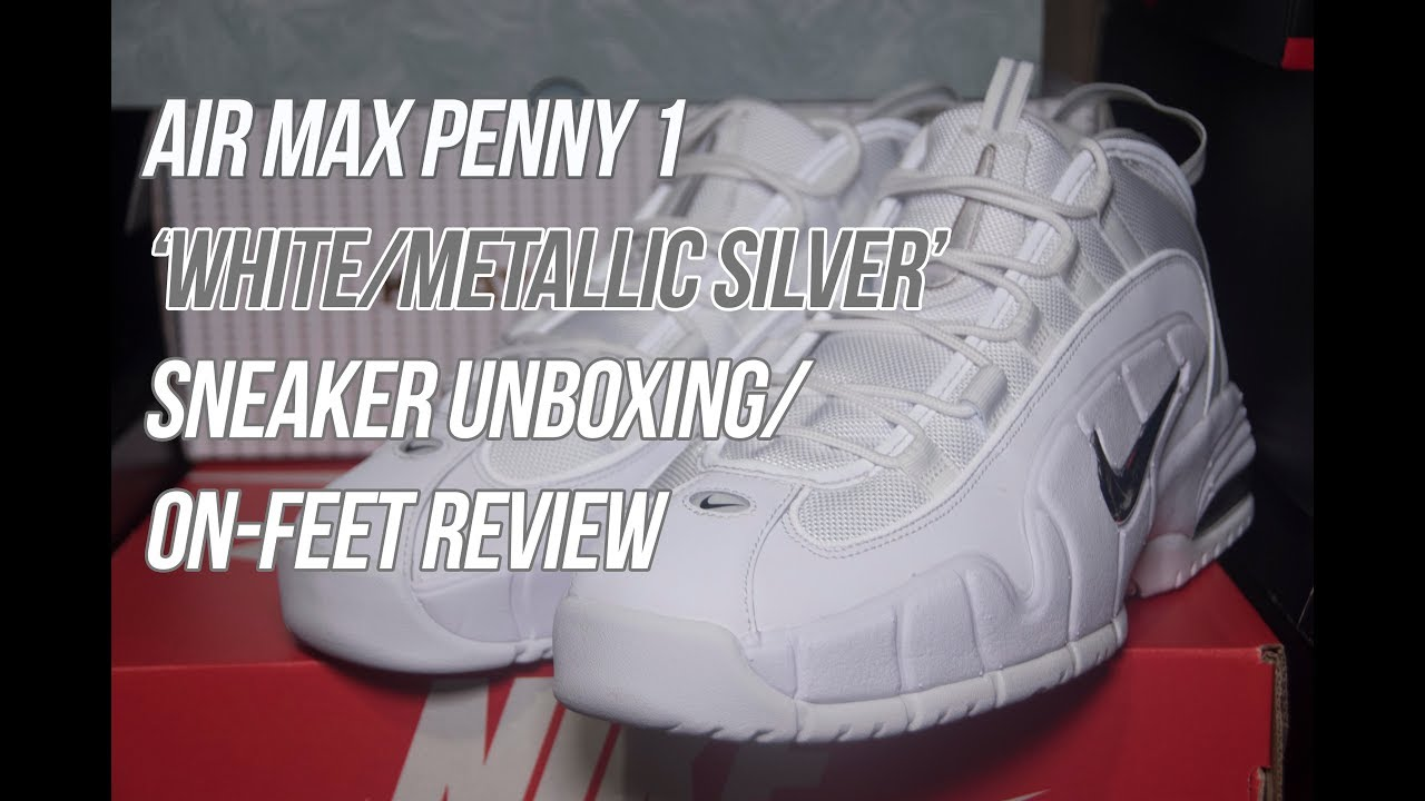 Air Penny 1 'White & Metallic Silver' | Solepost Unboxings