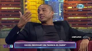 Benedettó le mandó un mensaje a Trezeguet en NET