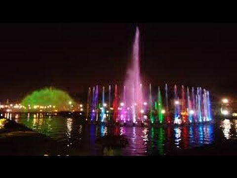 Beautiful Rizal Park Dancing Fountain in Manila Philippines