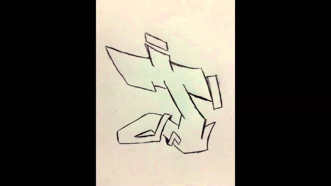 Graffiti Alphabet Semi Complexe