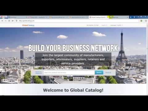How to submit business on globalcatalog.com