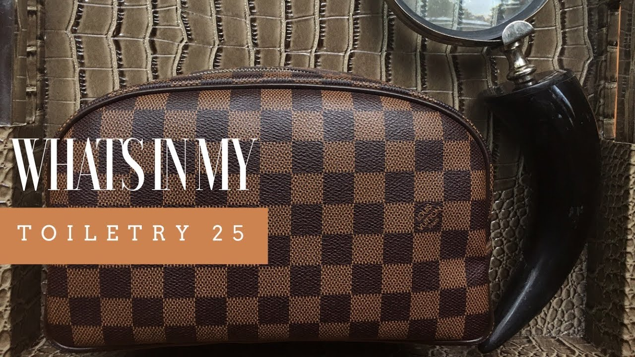 Louis Vuitton Toiletry 25 Wimb What S In My Bag Youtube Se stai cercando toiletry bag 25 louis vuitton sei nel posto giusto. louis vuitton toiletry 25 wimb what s in my bag