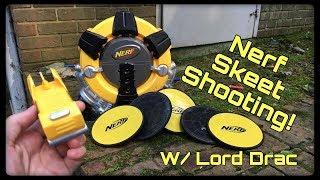 Vintage Review Nerf Skeet Shooter System