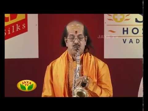 Margazhi Utsavam Kadri Gopalnath - On 30/12/14