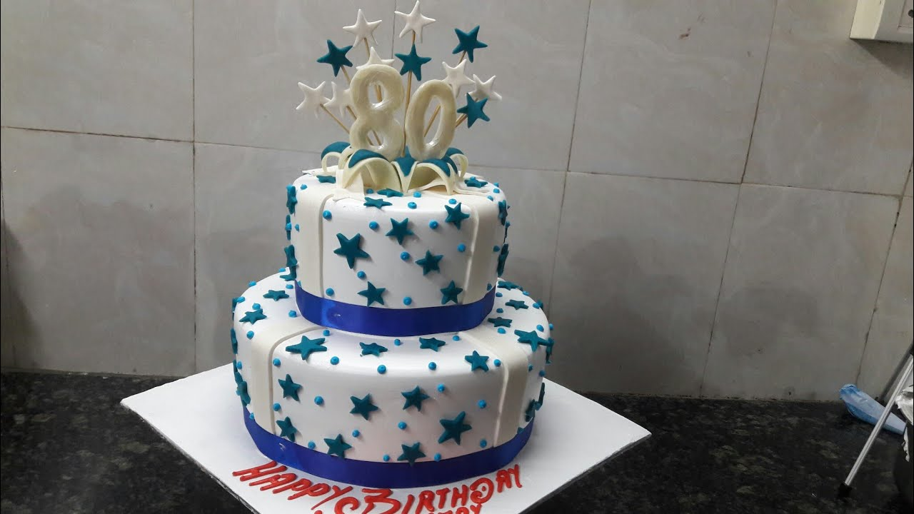 Video Of Birthday Cake Making
