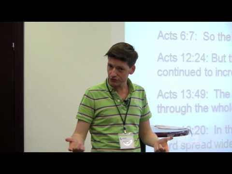Lessons for Preaching the Gospel from Acts - Glen Scrivener
