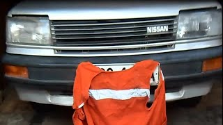 Ремонт / пайка бампера Nissan Bluebird своими руками(В этом видео буду ремонтировать трещину бампера, с помощью паяльника и головы. Всем приятного просмотра!, 2016-04-01T13:26:45.000Z)