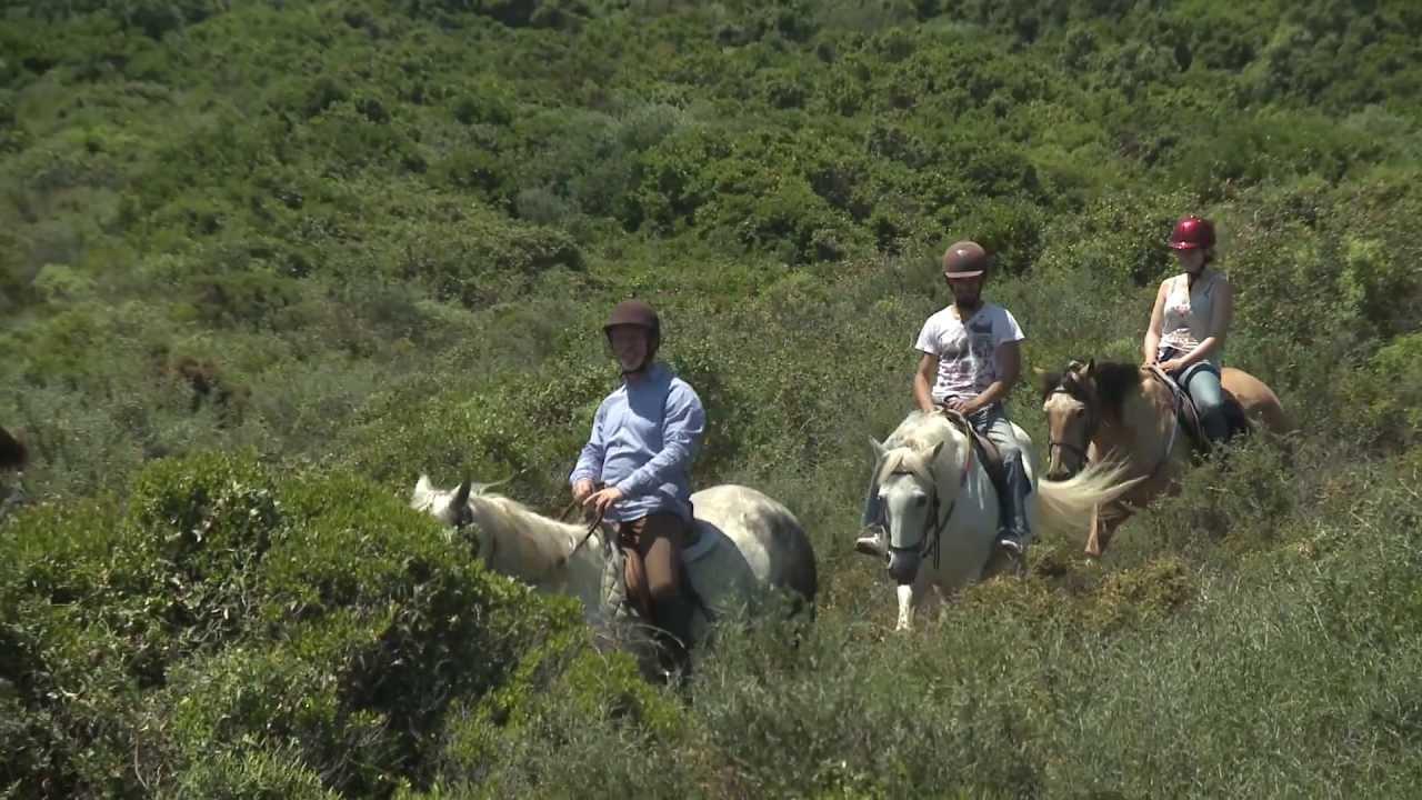 randonnee cheval bonifacio