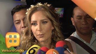 Geraldine Bazán le da 'cachetada con guante blanco' a Gabriel Soto por las declaraciones que hizo.