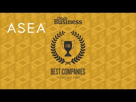 ASEA - Utah Business Best Companies to Work For