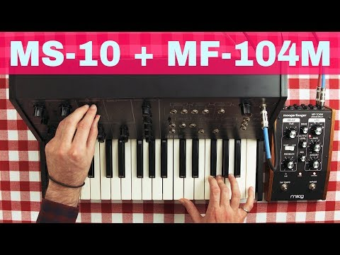 KORG MS-10 + MOOG MF-104M ~ Will They Pair? Ep.27