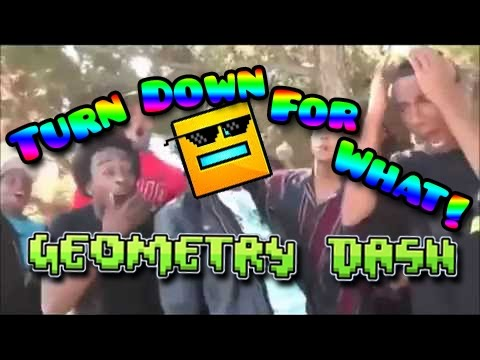 Turn Down For What! - Geometry Dash - Funny Level by Cocolon
