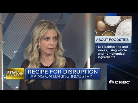 Sarah Michelle Gellar Bakes Up New Brand With Foodstirs  CNBC