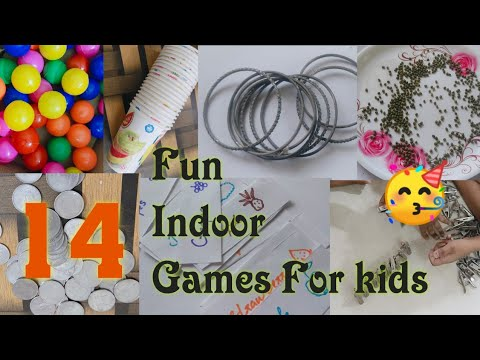 14  Fun Indoor Game For Kids   Awesome Fun Indoor Game   Keep Kids Busy At Home  My World Easy Craft