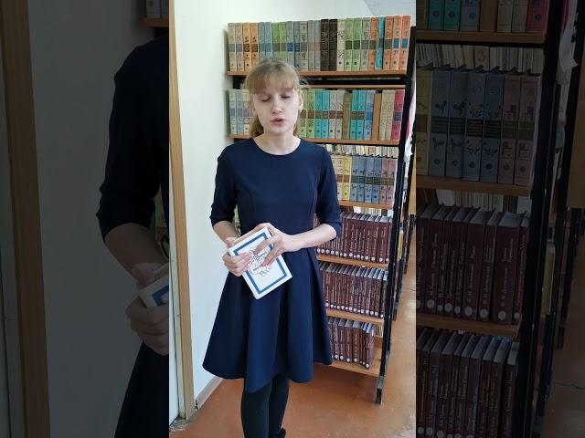 Изображение предпросмотра прочтения – ПолинаПоздняковская читает произведение «Неохотно инесмело…» Ф.И.Тютчева