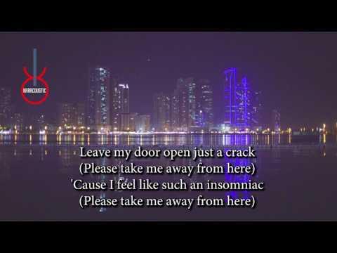 Fireflies (acoustic karaoke) - Owl City