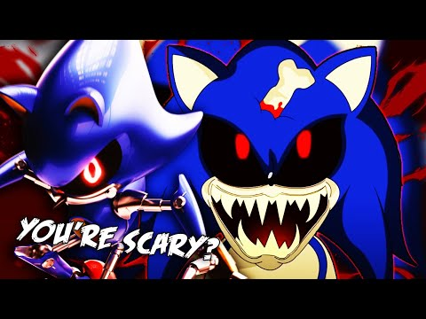 Metal Sonic Reacts To Sonic.Exe Trilogy (Parts 1,2, And 3)