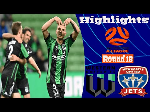 Western United Newcastle Jets Goals And Highlights