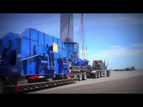 Bengal lift and transport of Offshore Winches