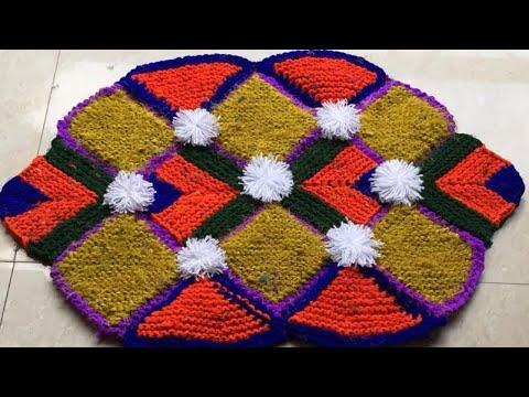 рдкреБрд░рд╛рдиреА рдЪреБрдиреНрдиреА рдФрд░ рд╕рд╛рдбрд╝реА рд╕реЗ рдмрдирд╛рдП рдирдпреА рдбреЗрд╕рд┐рдЧреНрди рдХрд╛ рдбреЛрд░реНрдореЗрдЯредnew design doormat made by old clothes