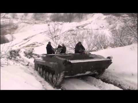 Winterfahrt im Technikpark MV Grimmen Panzer BMP Tatra SPW fahren