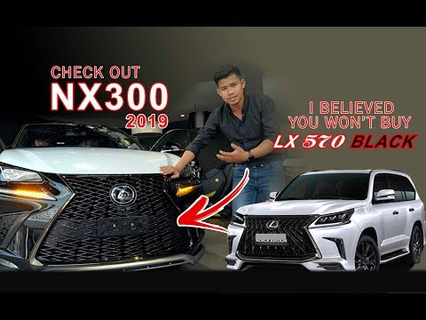 Check out Lexus Nx300 2019 with me you won't buy Lx570 black