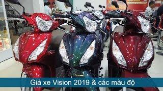 Gia Honda Vision 2019 &amp tu van tra gop 0 dong Mekong today