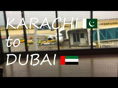 Karachi to Dubai | Our Emirates flight converted into flyDubai | Travel Vlog | Hammad Khatri