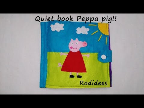 Thumbnail: Quiet book Peppa pig