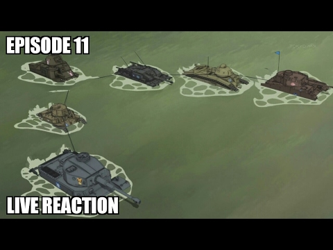 Girls und Panzer Episode 11 Reaction